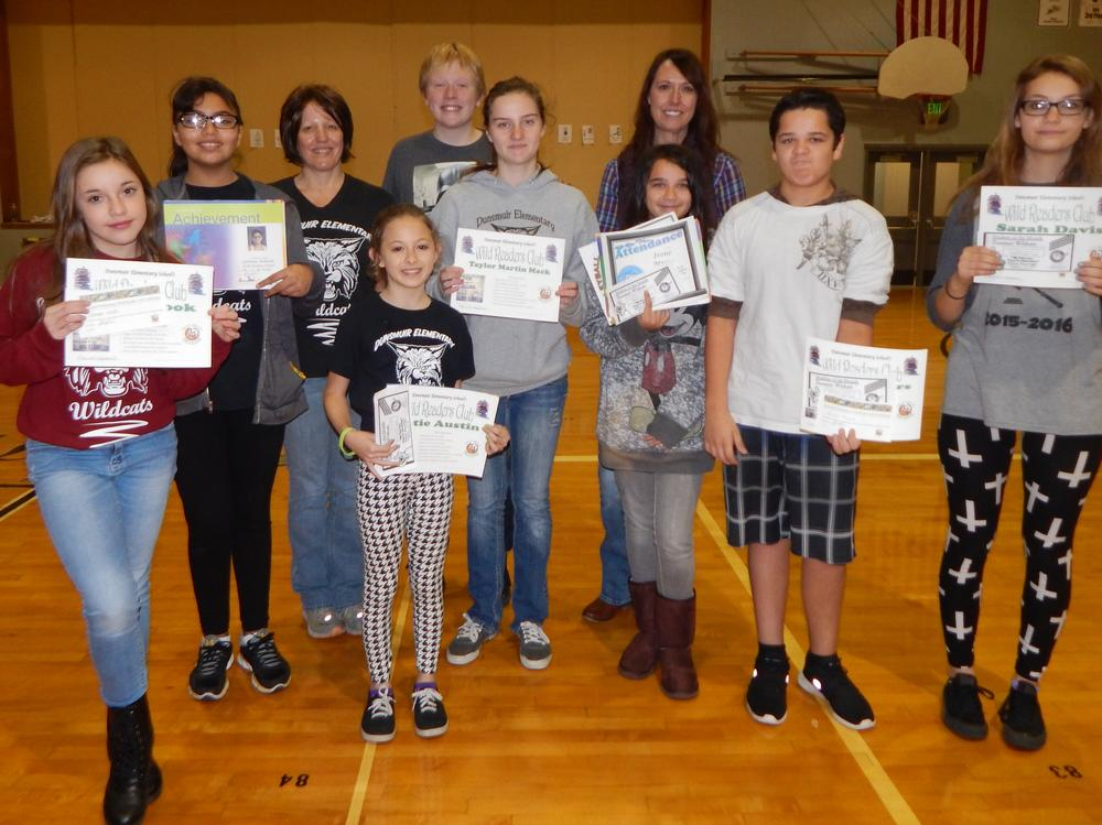 awards-1st trimester-wild readers 2