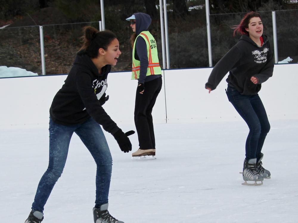 field trip-ice skating-naomi johnson & cali mcintire