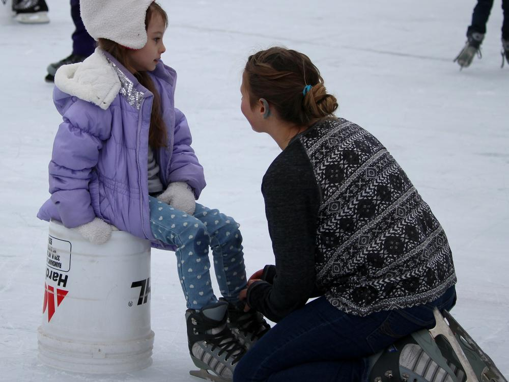 field trip-ice skating-onnalisa rose & carlina zavala