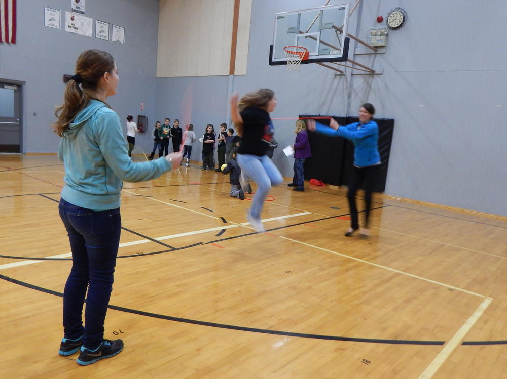 pi day-jump rope-carly, sydney, hibbard